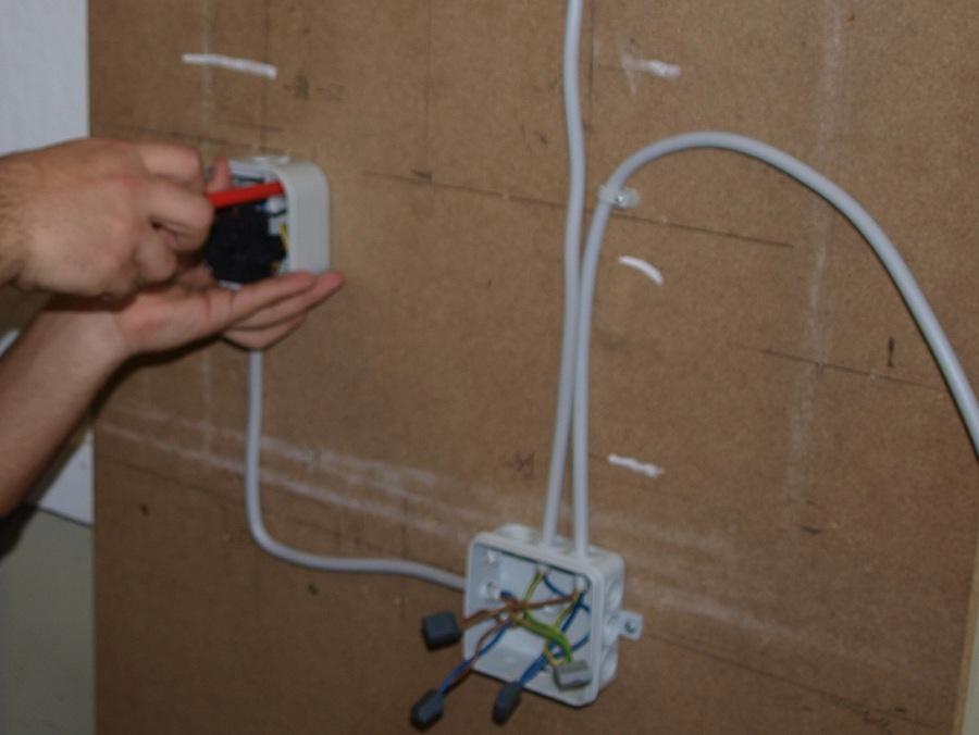 Schaltplan Abzweigdose Lichtschalter - Wiring Diagram